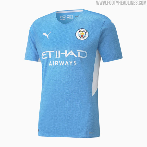 Manchester City 21 22 Home Kit Released Footy Headlines