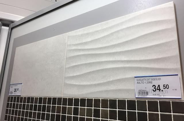 seinälaatta K-rauta Cello