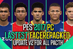 Latest Faces Repacked 2020 V2 - PES 2017