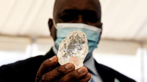 Botswana discover diamond believed to be world's third largest (photos)