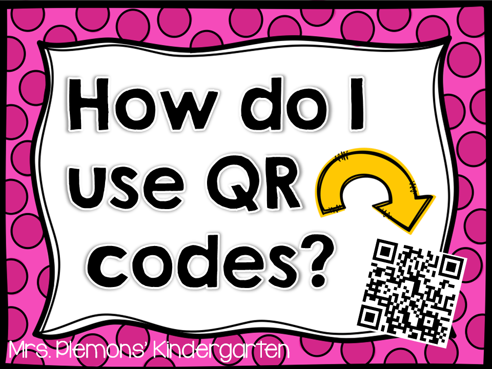 You Oughta Know About Using QR Codes in the Classroom - Mrs  Plemons