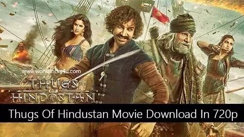 Thugs Of Hindostan Full Movie Download In 720p DVDRip Tamilrockers 2020