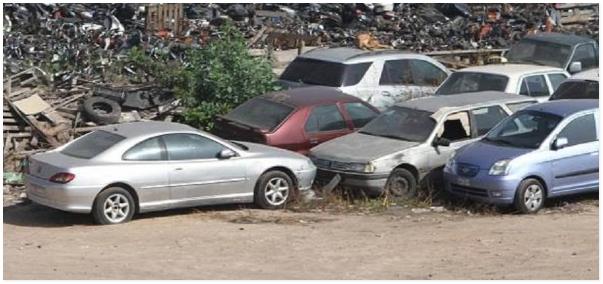 عشرات السيارات والدراجات النارية المحجوزة بمراكش تعرض للبيع