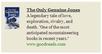 Goodreads ad