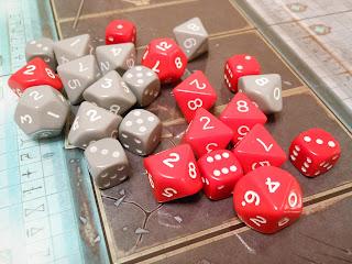 The Horus Heresy: Burning of Prospero dice