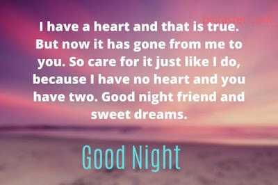 Good Night Images For Friends With Quotes