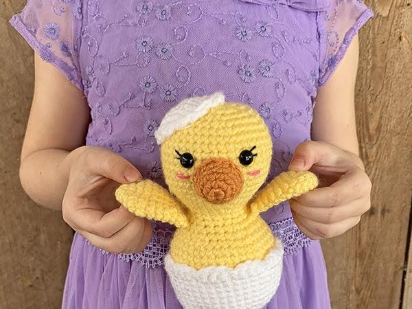 Free Crochet Chick Pattern