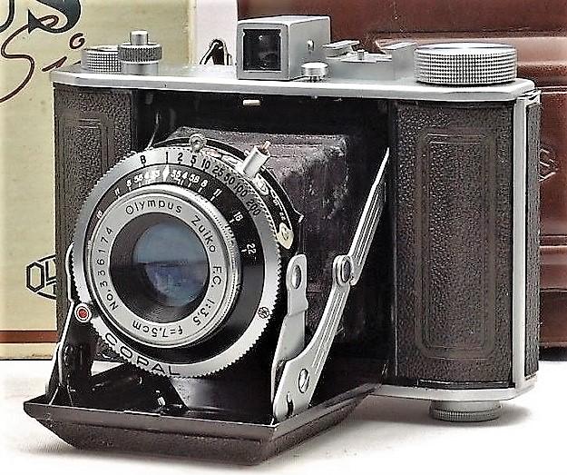 Olympus 120 Medium Format Cameras, 1936 - 1952