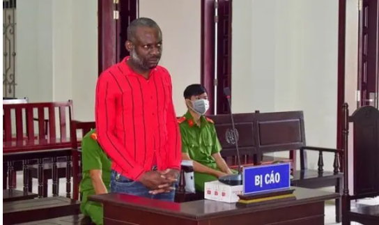 Nigerian man sentenced to death in Vietnam for drug trafficking (Pictures)