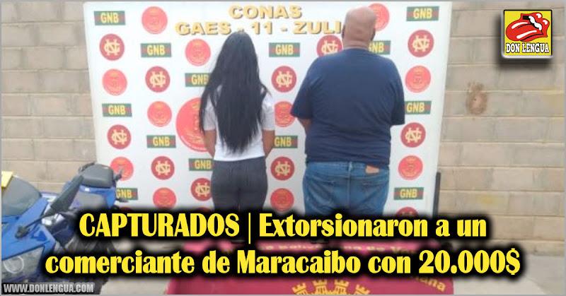 CAPTURADOS | Extorsionaron a un comerciante de Maracaibo con 20.000$