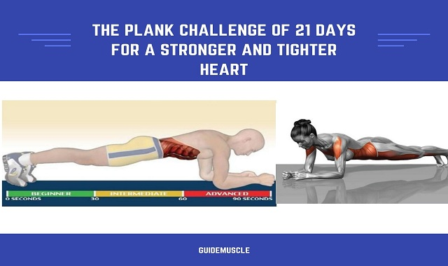 The Plank Challenge of 21 Days For a Stronger And Tighter Heart