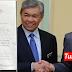 Surat sokongan Najib dan Zahid terhadap Anwar kepada YDP Agong tular