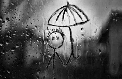 lenyap dalam Rintik hujan