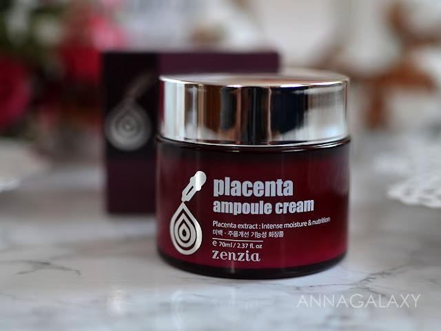 Отзыв на Крем для лица с плацентой Zenzia Placenta Ampoule Cream