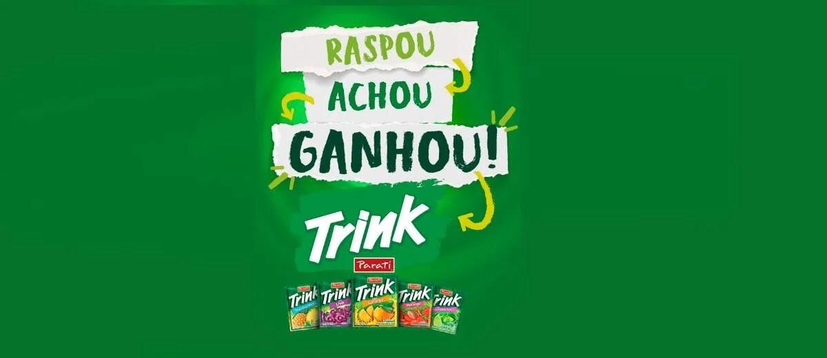 Promoção Trink 2020 Raspou Achou Ganhou Prêmios