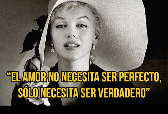 El amor no tiene que ser perfecto, solo tiene que ser verdadero, una hermosa reflexión para recordar