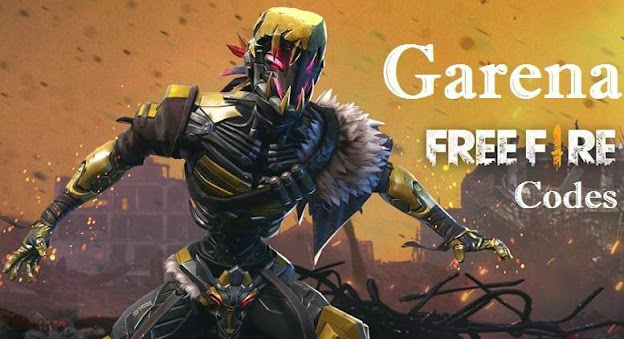 garena free fire promo codes