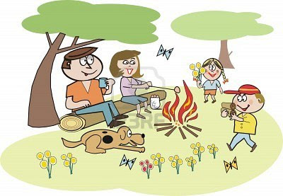 Gambar Kartun Rekreasi Bersama Keluarga Freepictureshdcom
