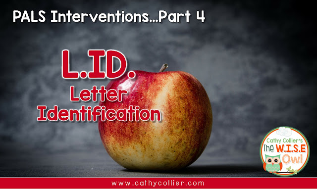 Part 4 of this series is the final intervention.  This is about the letter identification portion of the Kindergarten PALS test. Using a consistent routine with students, the test results are proof of success.