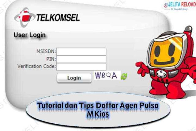 Tutorial dan Tips Daftar Agen Pulsa MKios