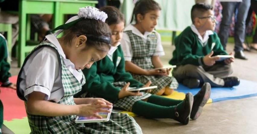 Más de 38 mil escolares de Lima Sur accedieron a educación digital