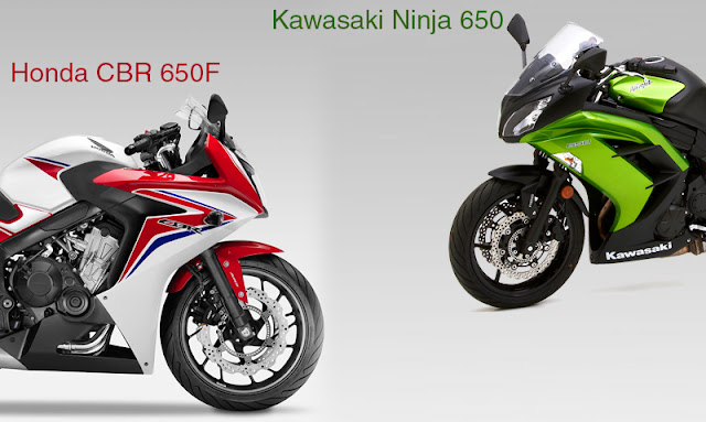 honda cbr 650f ninja 650 styling and design