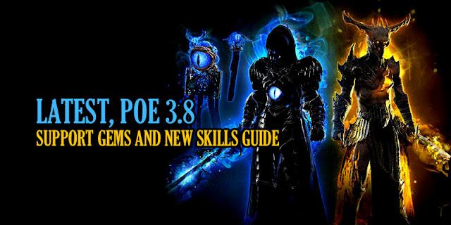 POE 3.8 Skills
