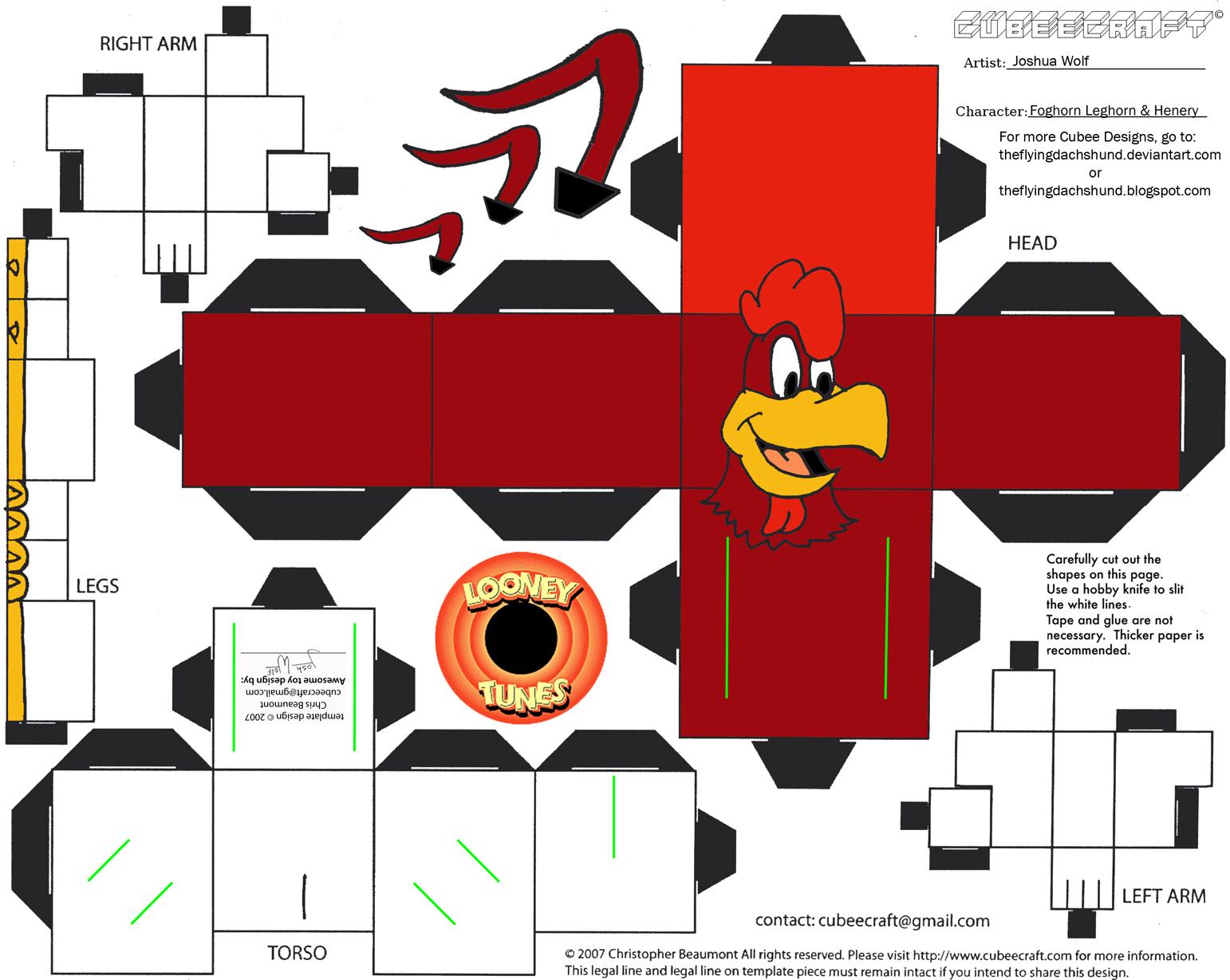 De cubeecraft y algo más: Cubeecraft Looney Tunes