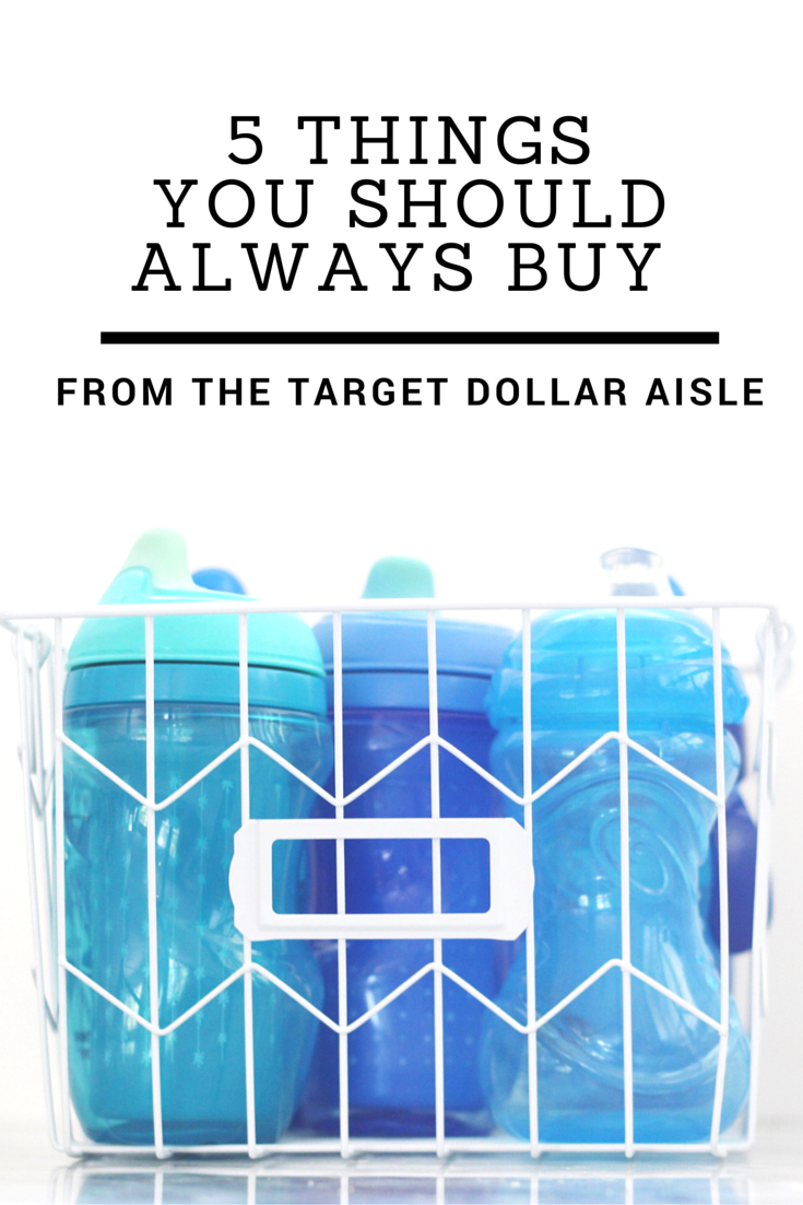 5 Things You Should Always Buy in the Target Dollar Aisle