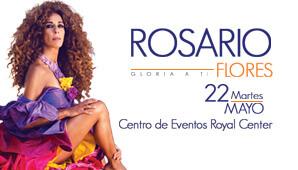 Concierto de ROSARIO FLORES en Bogotá