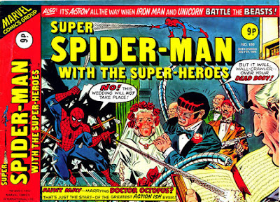 Super Spider-Man with the Super-Heroes #180, Dr Octopus marries Aunt May