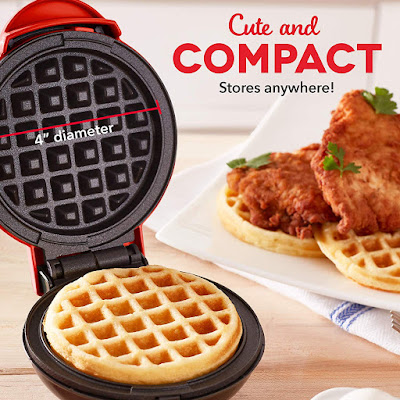 Mini Waffle Maker Machine | Gadgets For Kitchen
