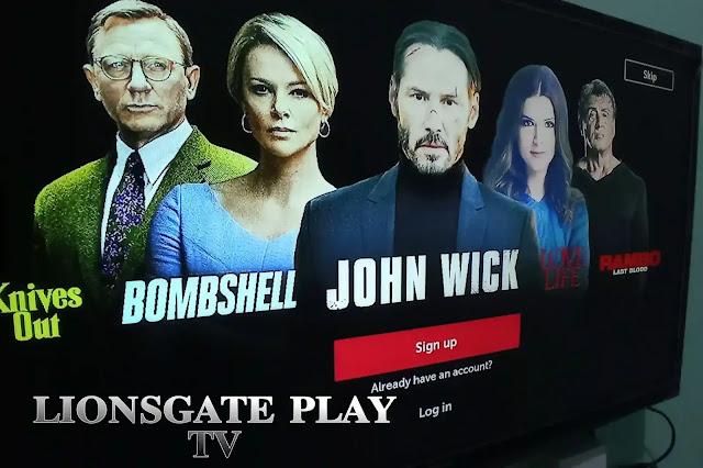 nonton Lionsgate play di tv