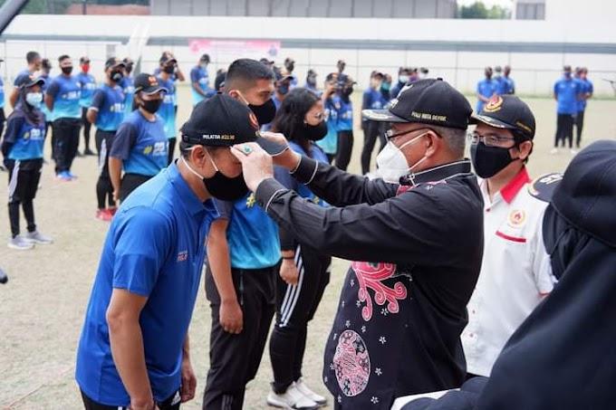 Walikota Kukuhkan Atlit dan Pelatih Pelatda Kota Depok