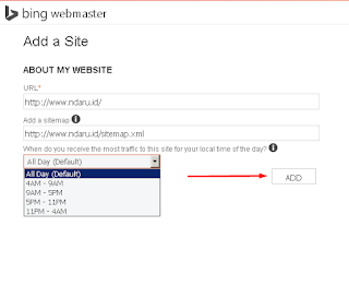 Bing Webmasters