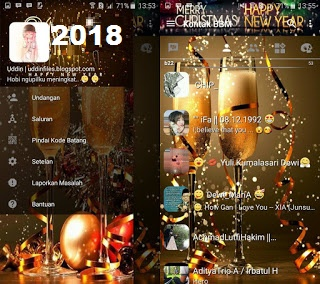 Download Bbm Mod New Year Special Tahun Gres 2018