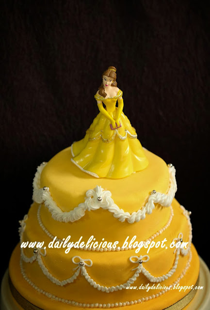 Dailydelicious Happy Birthday My Niece Princess Cake