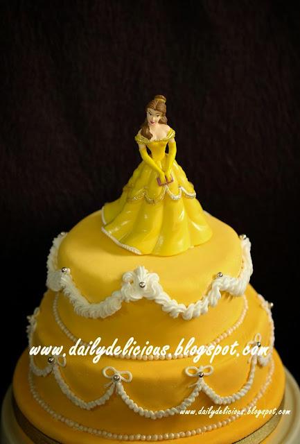 Dailydelicious Happy Birthday My Niece Princess Cake