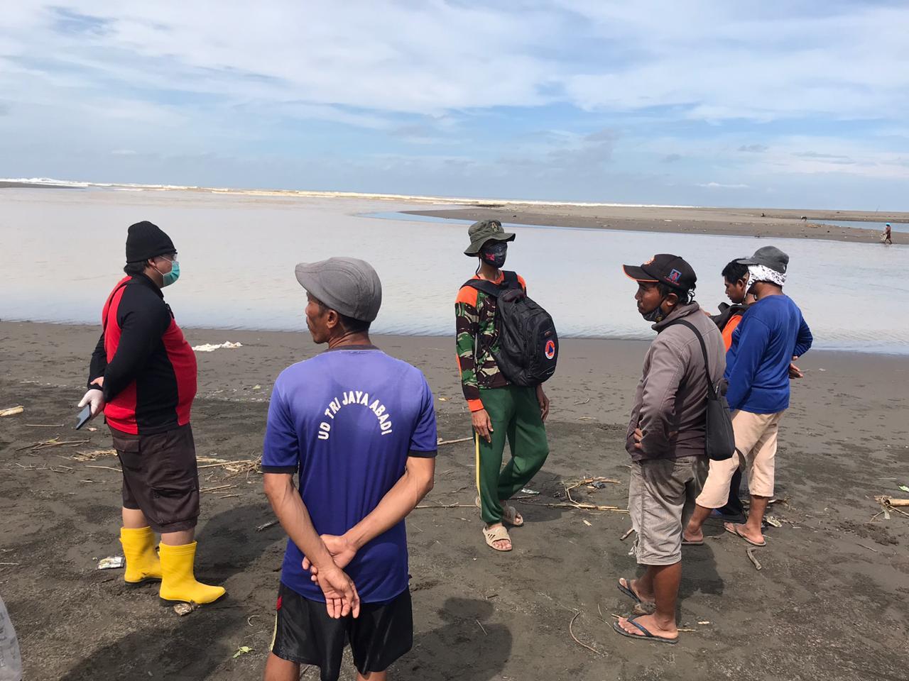 Berwisata, Dua Warga Dilaporkan Hilang di Muara Sungai Pantai Tegalretno