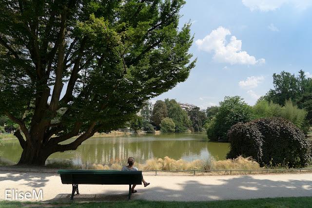 Lac du parc Montsouris