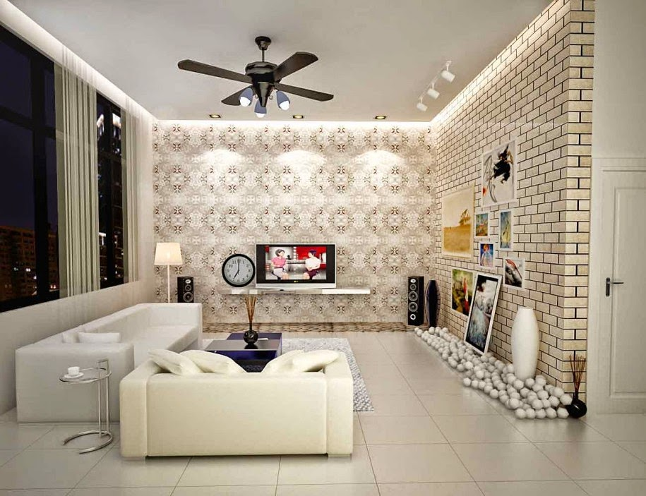Motif Wallpaper Cantik Dan Elegan Untuk Ruang Tamu Dan Kamar