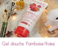Sensibulle gelée de douche Framboise/fraise
