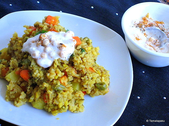 Mixed Vegetable Khichdi