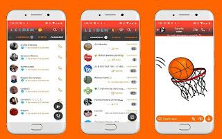 Basketball Game Theme For YOWhatsApp & Fouad WhatsApp By Leidiane
