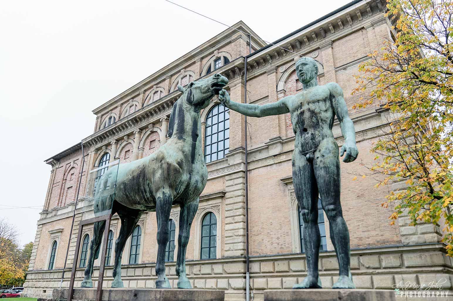 Statue in Munich Germany