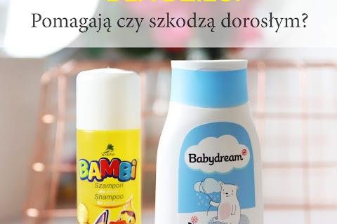 Czy warto stosować szampony dla dzieci? Pomagają czy szkodzą dorosłym? - czytaj dalej »