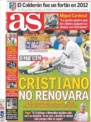 Manu Sainz y Cristiano Ronaldo