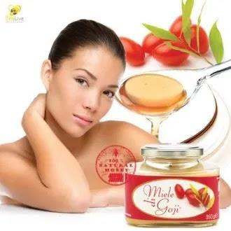 Θεραπευτικό μέλι από γκότζι (goji) 350gr