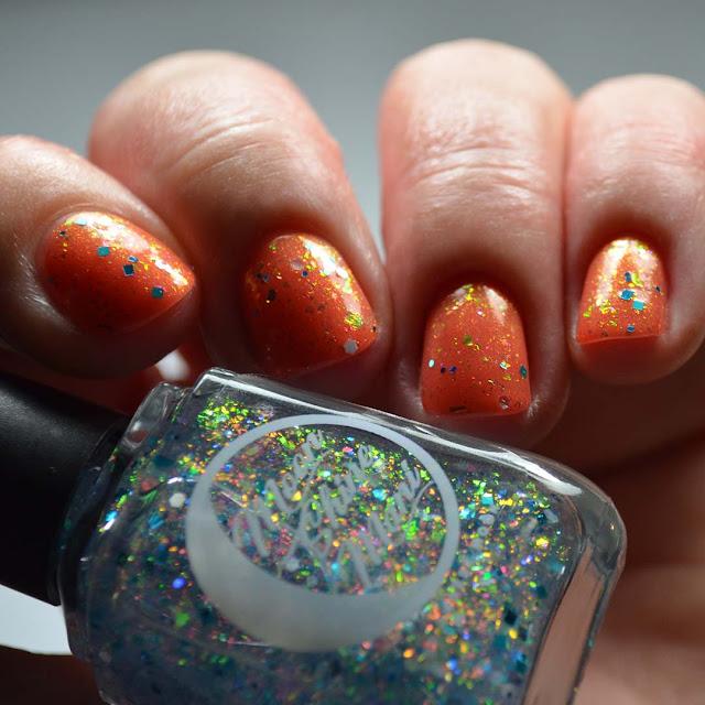 glitter topper nail polish