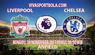 Prediksi Liverpool vs Chelsea 26 November 2017